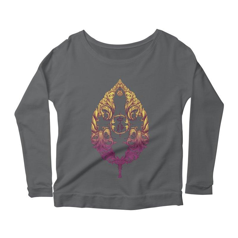 Leaf Victoriana Women's Scoop Neck Longsleeve T-Shirt by 6amcrisis's Artist Shop