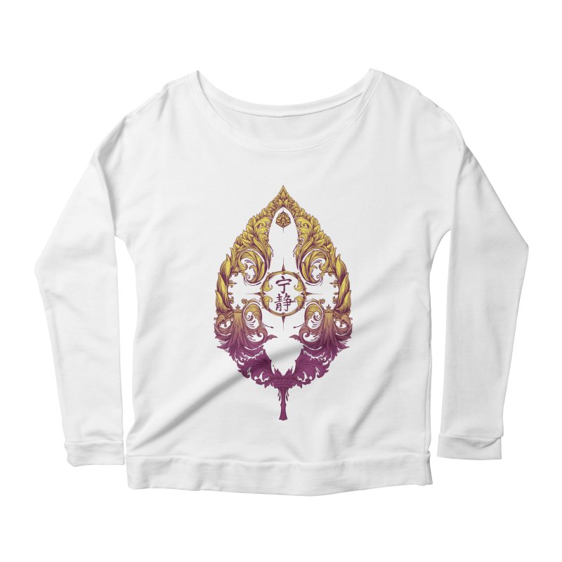Leaf Victoriana Women's Scoop Neck Longsleeve T-Shirt by 6amcrisis's Artist Shop