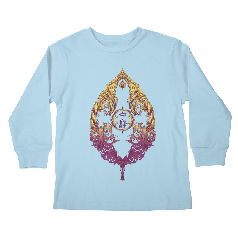 Leaf Victoriana Kids Longsleeve T-Shirt by 6amcrisis's Artist Shop