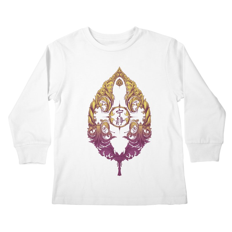 Leaf Victoriana Kids Longsleeve T-Shirt by 6amcrisis's Artist Shop