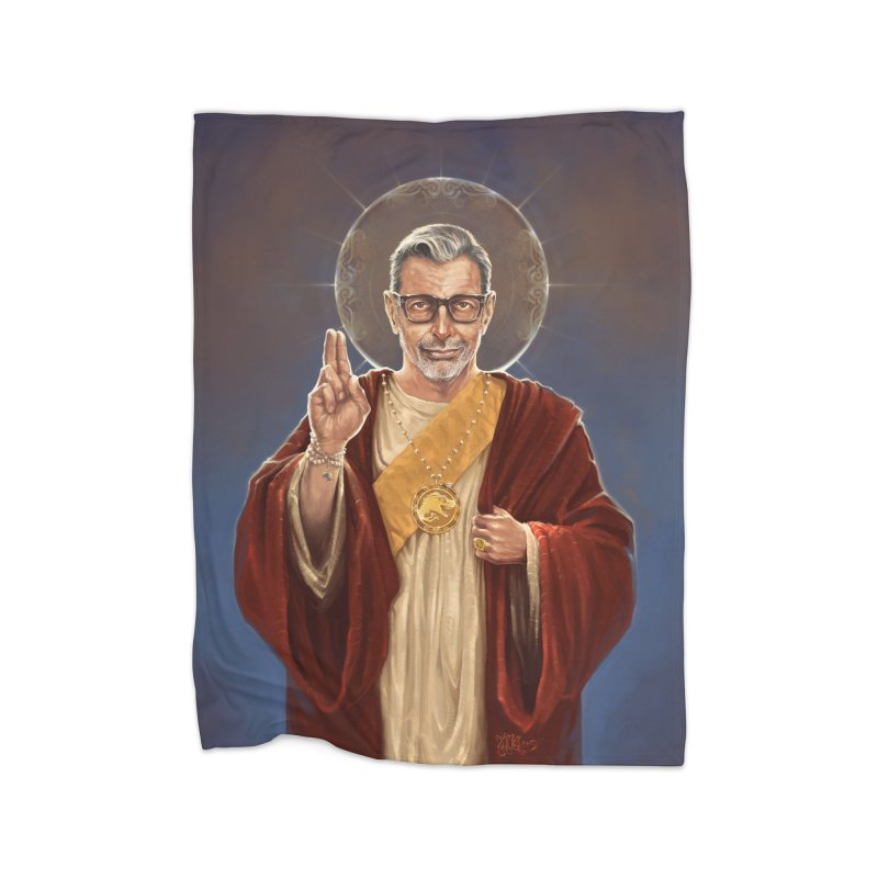 Saint Jeff of Goldblum Home Blanket by 6amcrisis's Artist Shop