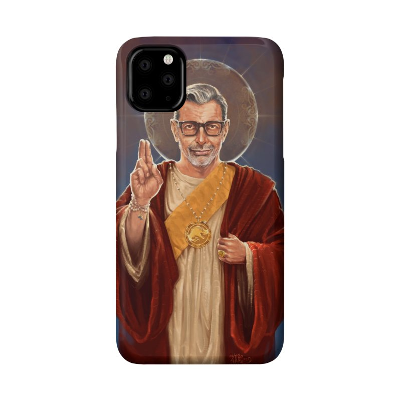 Saint Jeff of Goldblum Accessories Phone Case by 6amcrisis's Artist Shop
