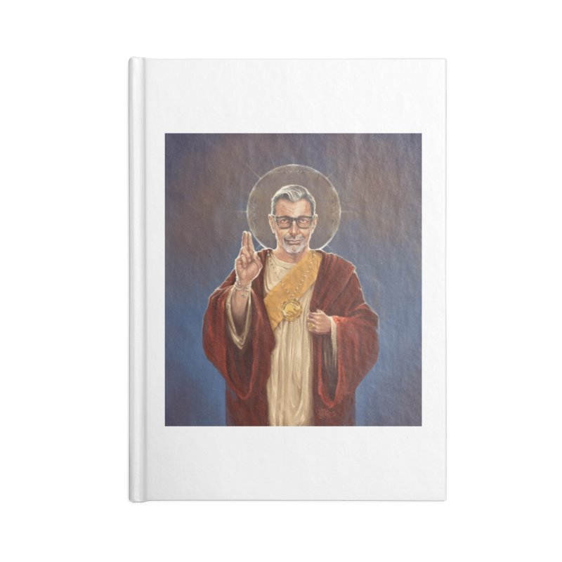 Saint Jeff of Goldblum Accessories Blank Journal Notebook by 6amcrisis's Artist Shop