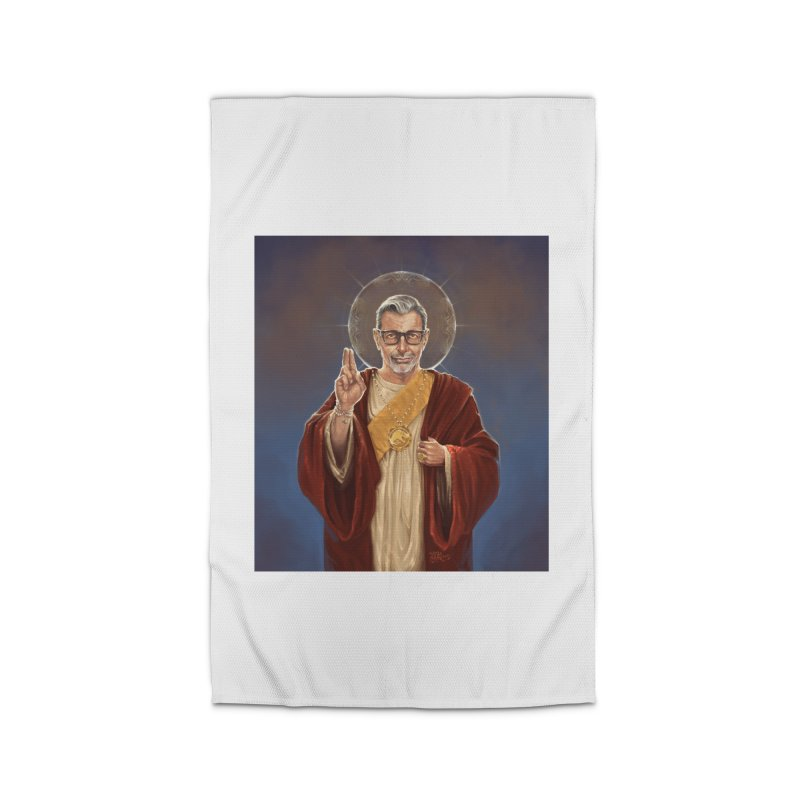 Saint Jeff of Goldblum Home Rug by 6amcrisis's Artist Shop