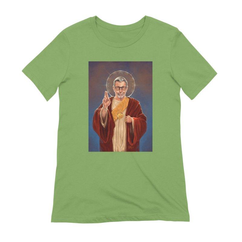 Saint Jeff of Goldblum Women's Extra Soft T-Shirt by 6amcrisis's Artist Shop