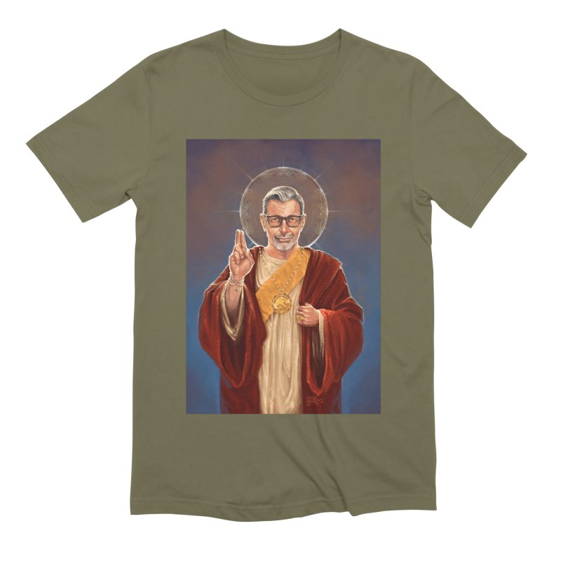 Saint Jeff of Goldblum Men's Extra Soft T-Shirt by 6amcrisis's Artist Shop