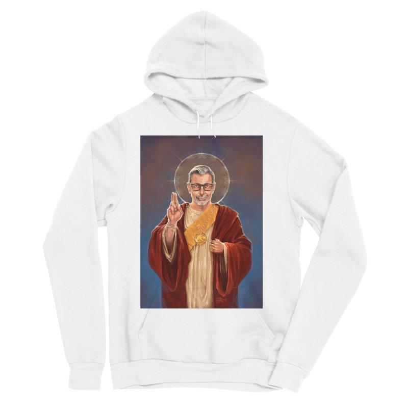 Saint Jeff of Goldblum Women's Sponge Fleece Pullover Hoody by 6amcrisis's Artist Shop