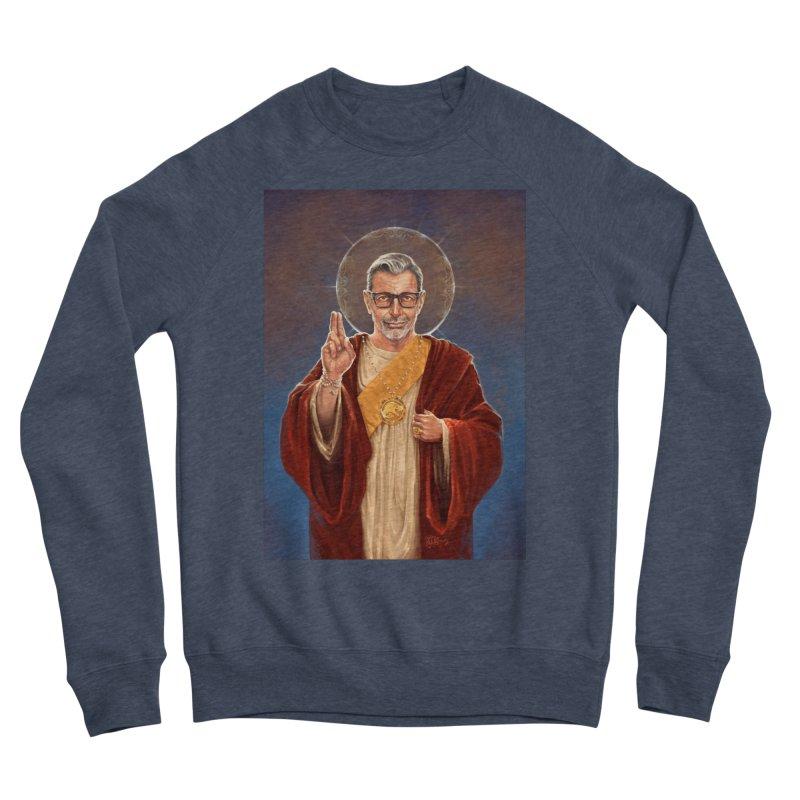 Saint Jeff of Goldblum Women's Sponge Fleece Sweatshirt by 6amcrisis's Artist Shop