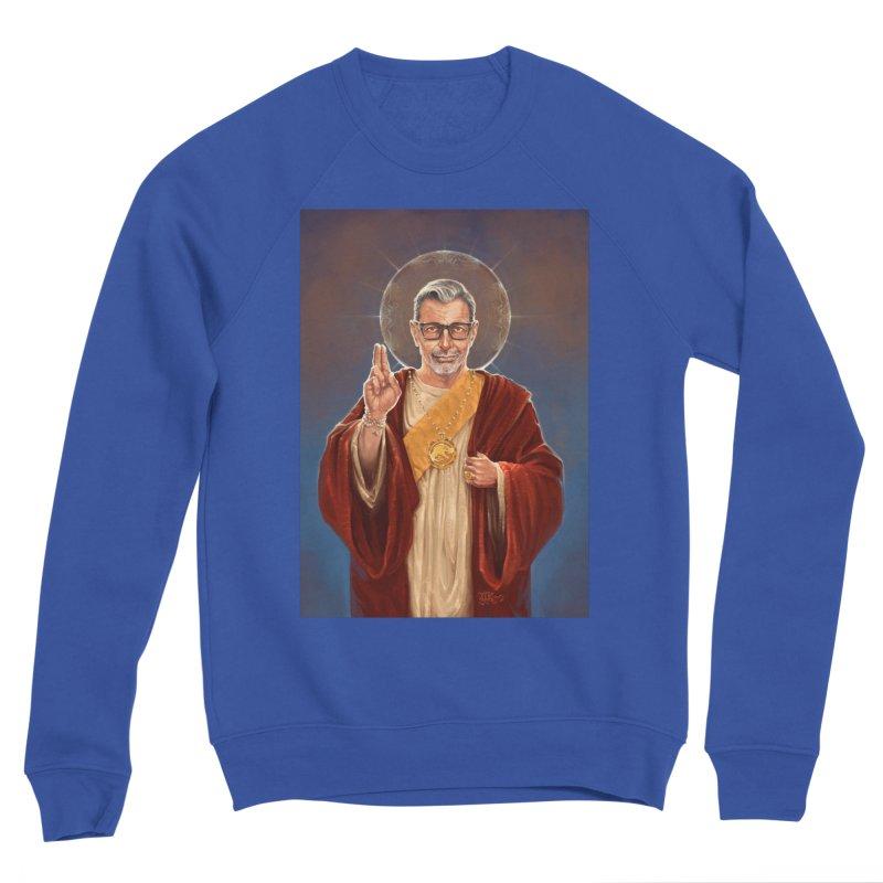 Saint Jeff of Goldblum Men's Sponge Fleece Sweatshirt by 6amcrisis's Artist Shop