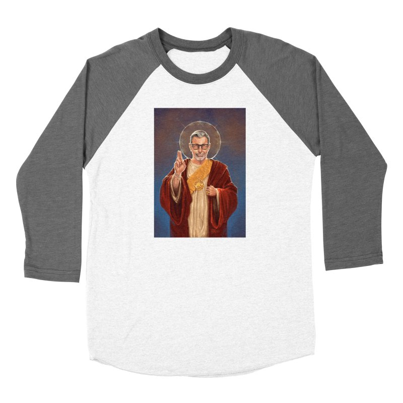 Saint Jeff of Goldblum Women's Longsleeve T-Shirt by 6amcrisis's Artist Shop