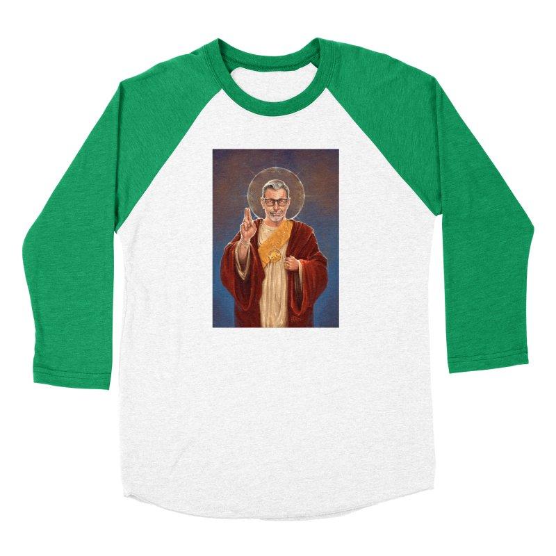 Saint Jeff of Goldblum Women's Baseball Triblend Longsleeve T-Shirt by 6amcrisis's Artist Shop
