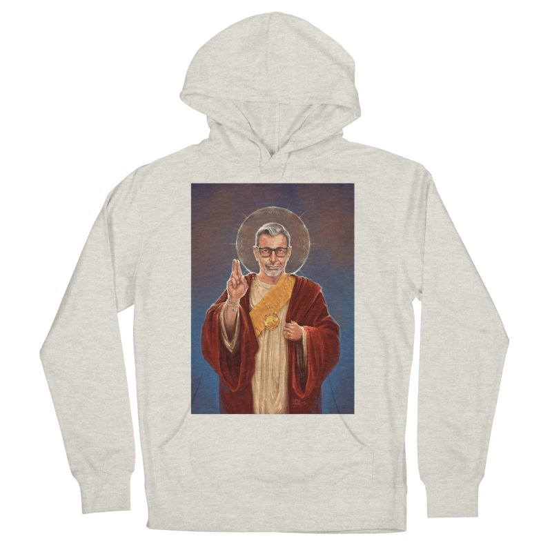 Saint Jeff of Goldblum Women's French Terry Pullover Hoody by 6amcrisis's Artist Shop