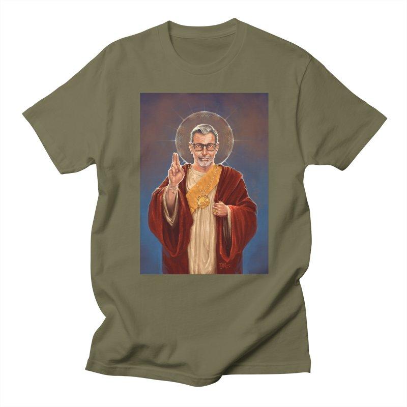 Saint Jeff of Goldblum Women's Regular Unisex T-Shirt by 6amcrisis's Artist Shop