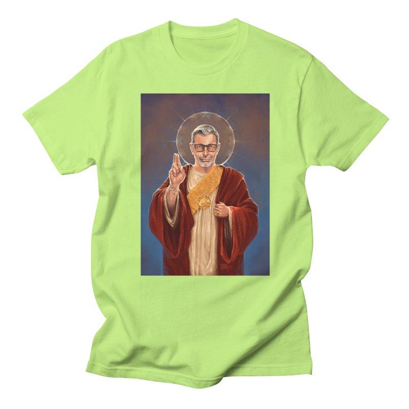 Saint Jeff of Goldblum Men's Regular T-Shirt by 6amcrisis's Artist Shop