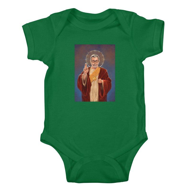 Saint Jeff of Goldblum Kids Baby Bodysuit by 6amcrisis's Artist Shop