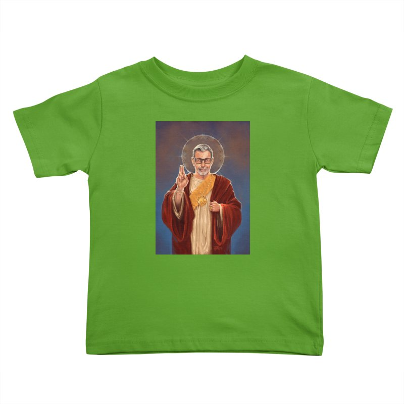 Saint Jeff of Goldblum Kids Toddler T-Shirt by 6amcrisis's Artist Shop