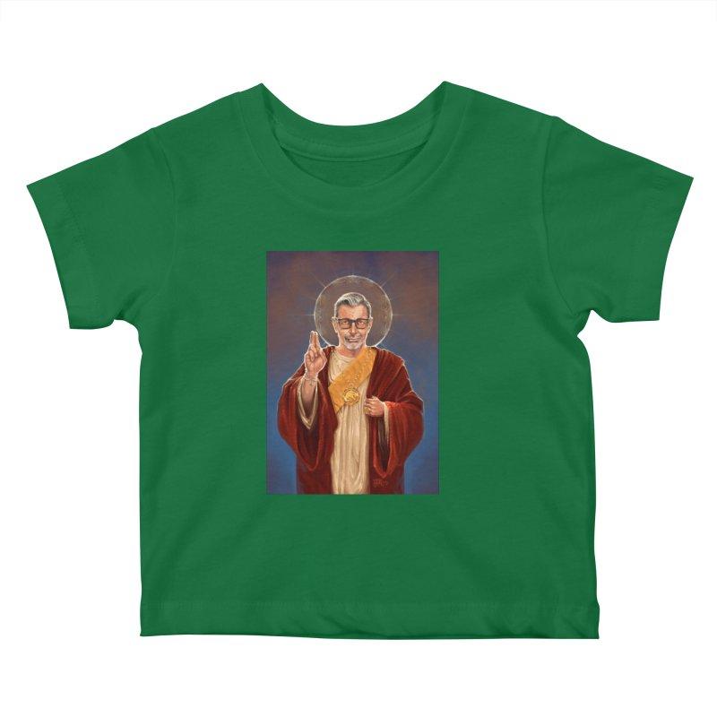 Saint Jeff of Goldblum Kids Baby T-Shirt by 6amcrisis's Artist Shop