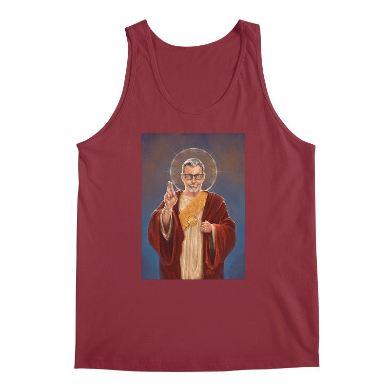 Saint Jeff of Goldblum Men's Regular Tank by 6amcrisis's Artist Shop