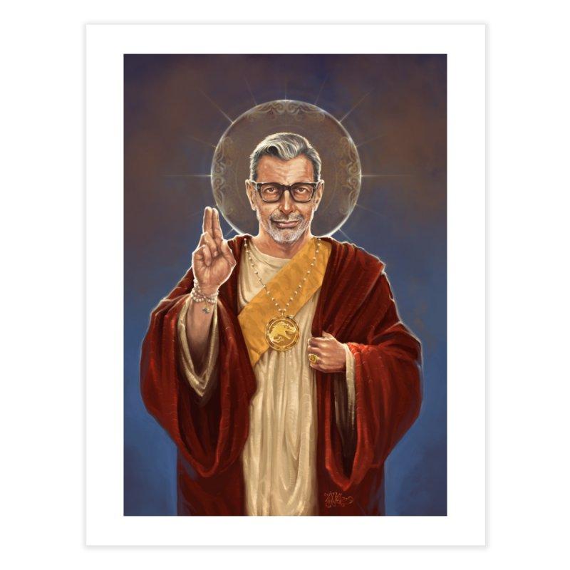 Saint Jeff of Goldblum Home Fine Art Print by 6amcrisis's Artist Shop