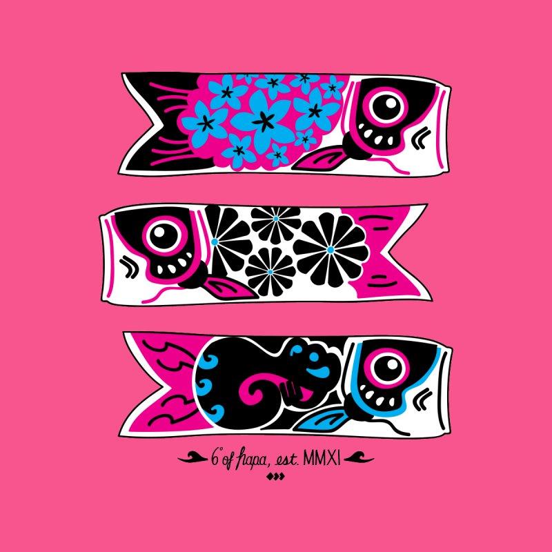 3 Koinobori - Pink/Blue Men's T-Shirt by 6degreesofhapa's Artist Shop