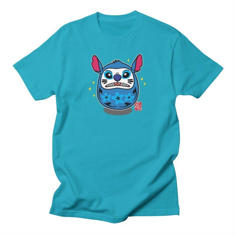 Daruma Aloha Alien - Fierce Men's T-Shirt by 6degreesofhapa's Artist Shop