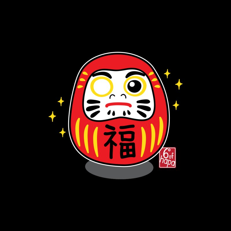 Daruma Doll - Classic Kids Toddler T-Shirt by 6degreesofhapa's Artist Shop