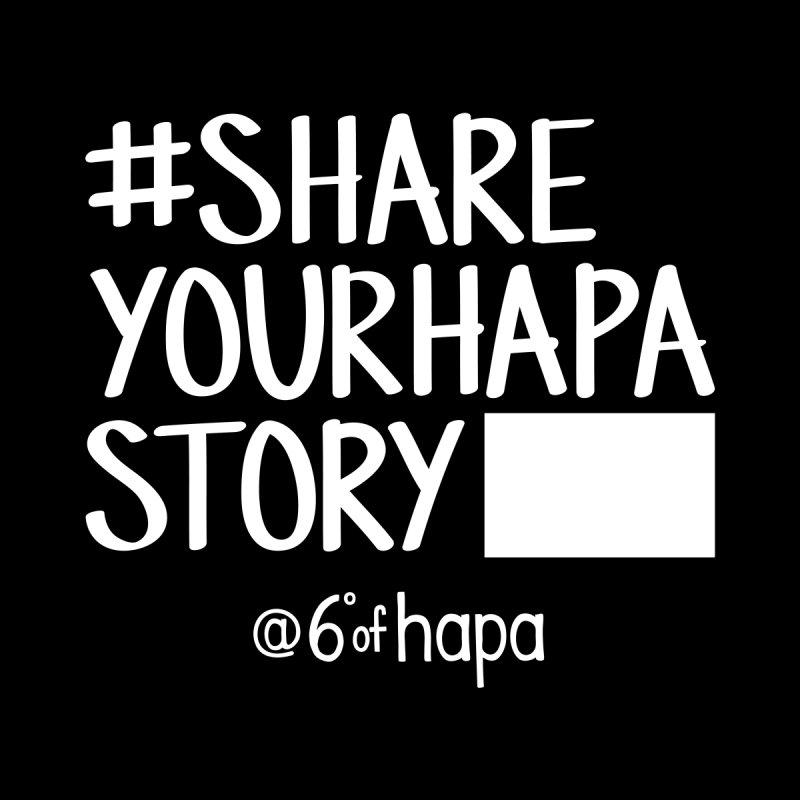 #ShareYourHapaStory Gym Style III Men's Pullover Hoody by 6degreesofhapa's Artist Shop