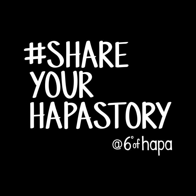 #ShareYourHapaStory II Accessories Bag by 6degreesofhapa's Artist Shop