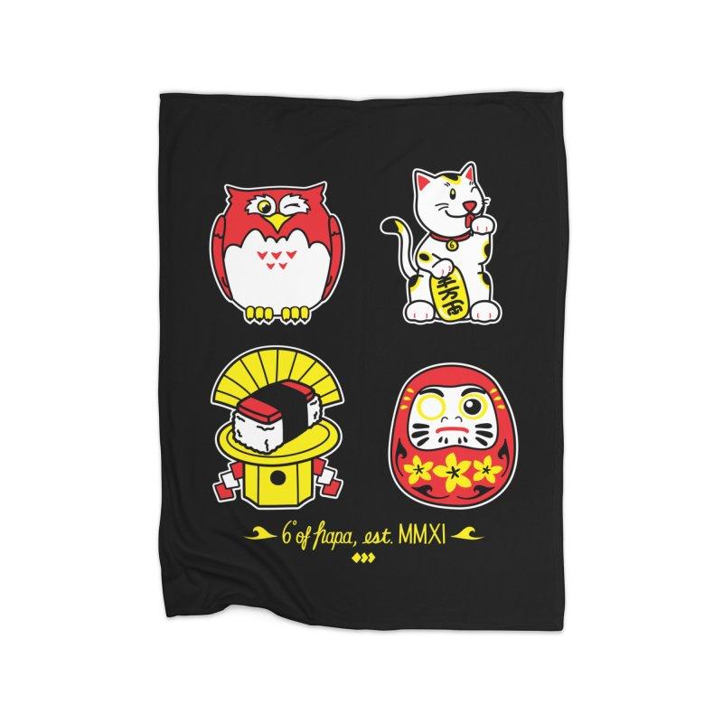 Good Luck Home Blanket by 6degreesofhapa's Artist Shop