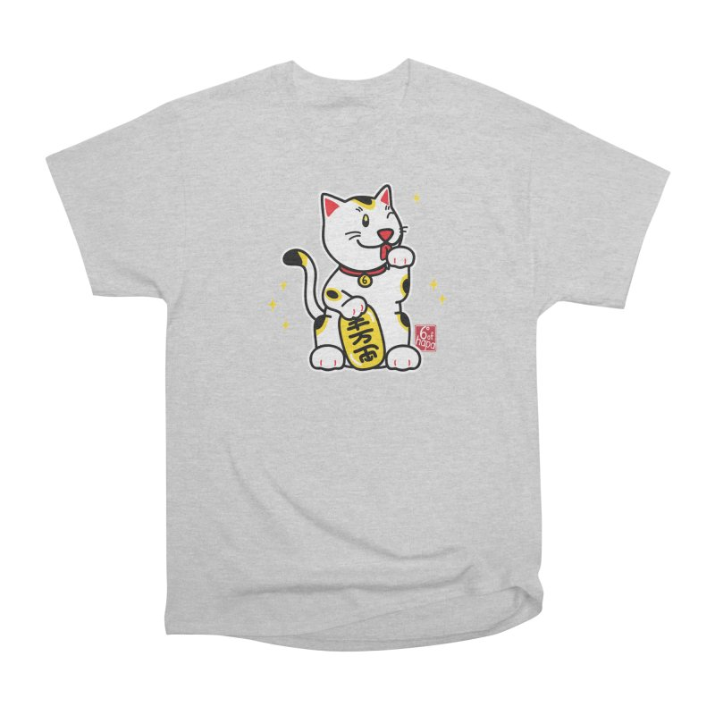 Maneki Neko Men's T-Shirt by 6degreesofhapa's Artist Shop