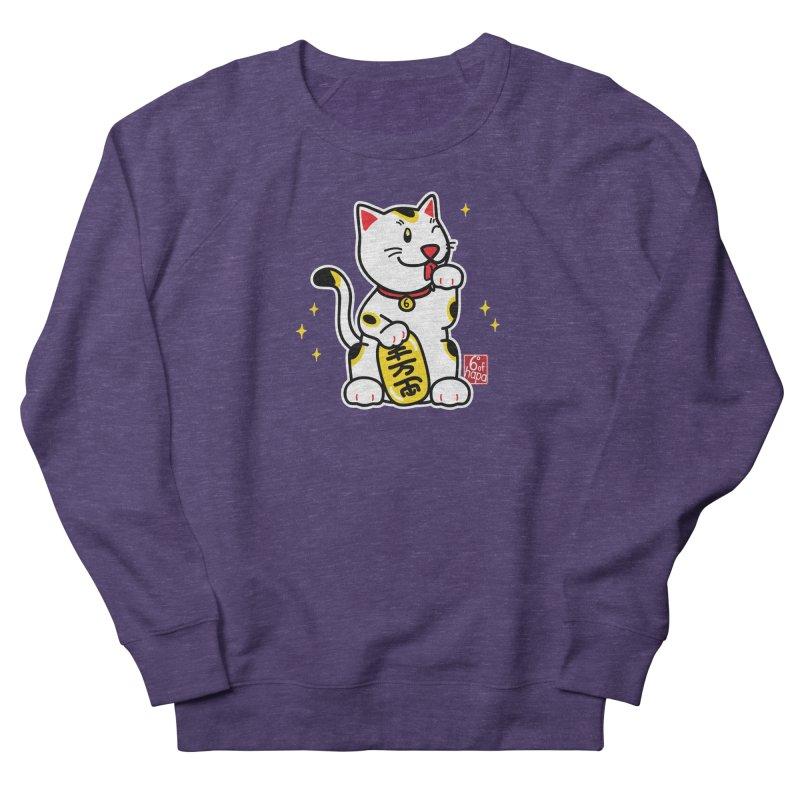 Maneki Neko Women's Sweatshirt by 6degreesofhapa's Artist Shop