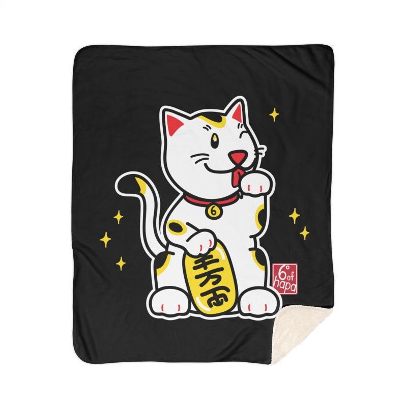 Maneki Neko Home Blanket by 6degreesofhapa's Artist Shop