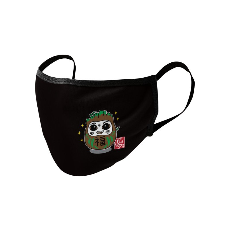 Daruma Root Alien Accessories Face Mask by 6degreesofhapa's Artist Shop