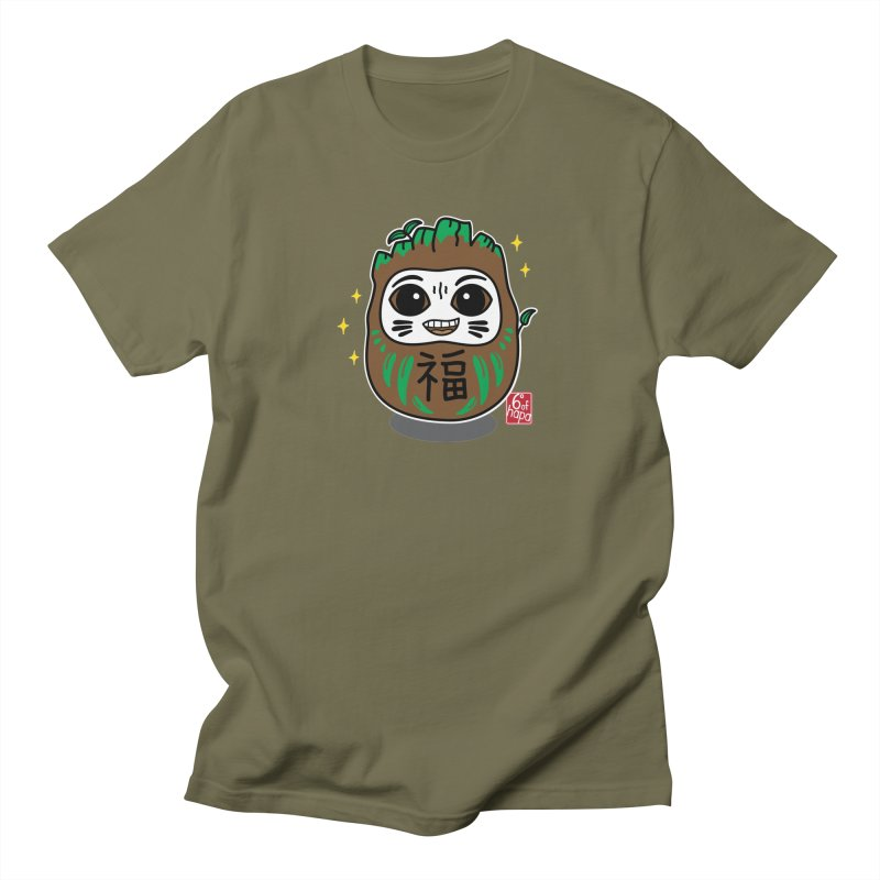 Daruma Root Alien Men's T-Shirt by 6degreesofhapa's Artist Shop