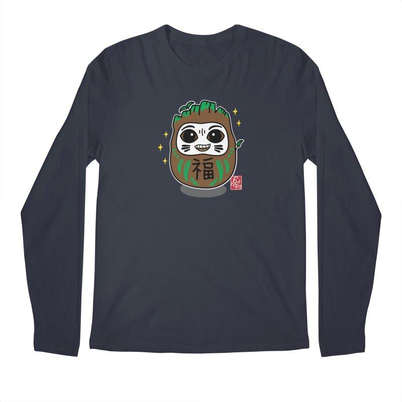 Daruma Root Alien Men's Longsleeve T-Shirt by 6degreesofhapa's Artist Shop