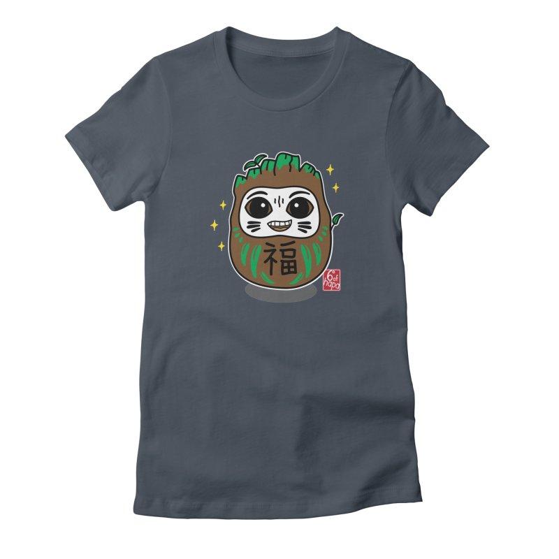 Daruma Root Alien Women's T-Shirt by 6degreesofhapa's Artist Shop