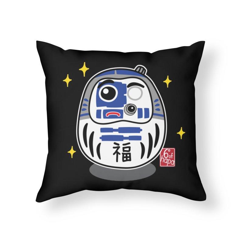 Daruma Wars I Home Throw Pillow by 6degreesofhapa's Artist Shop