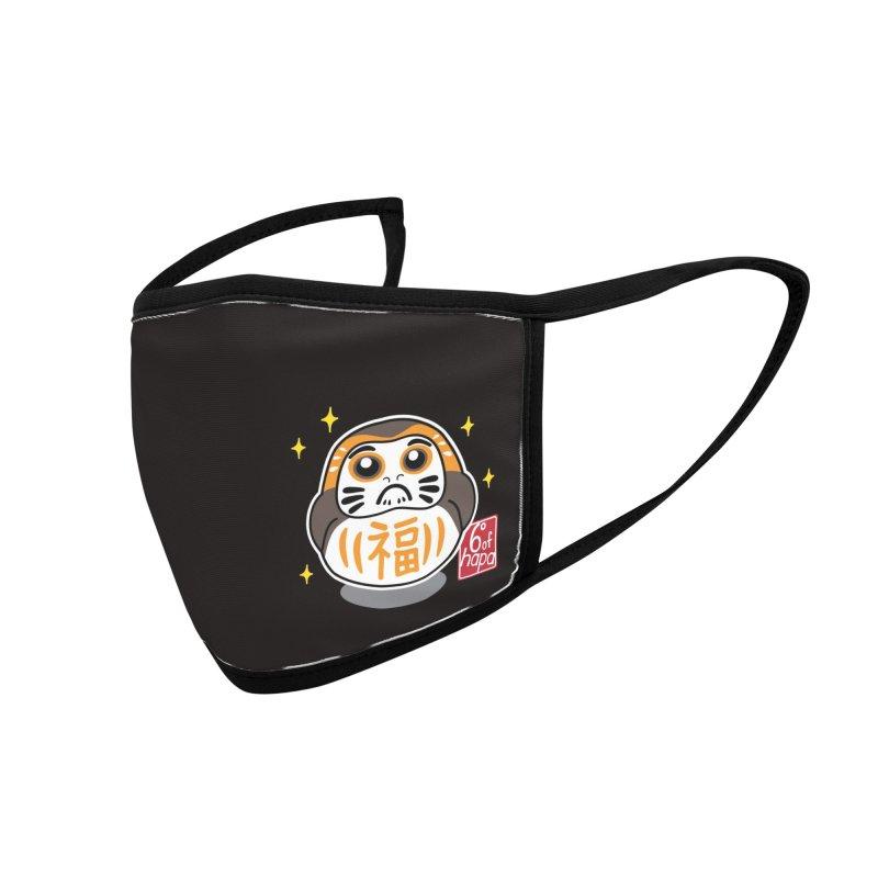Daruma Wars III Accessories Face Mask by 6degreesofhapa's Artist Shop