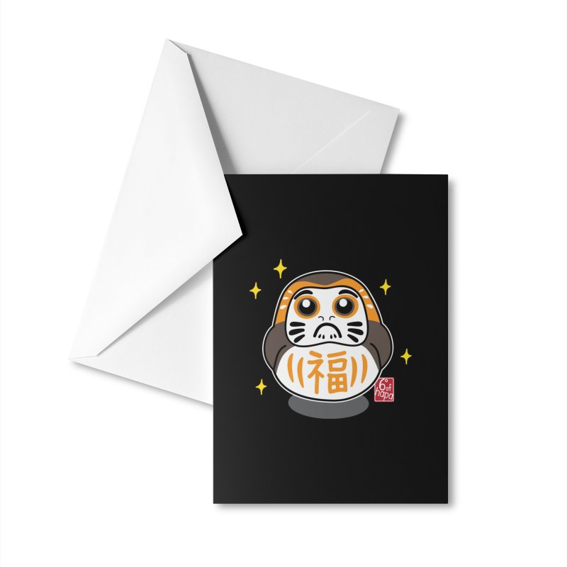 Daruma Wars III Accessories Greeting Card by 6degreesofhapa's Artist Shop