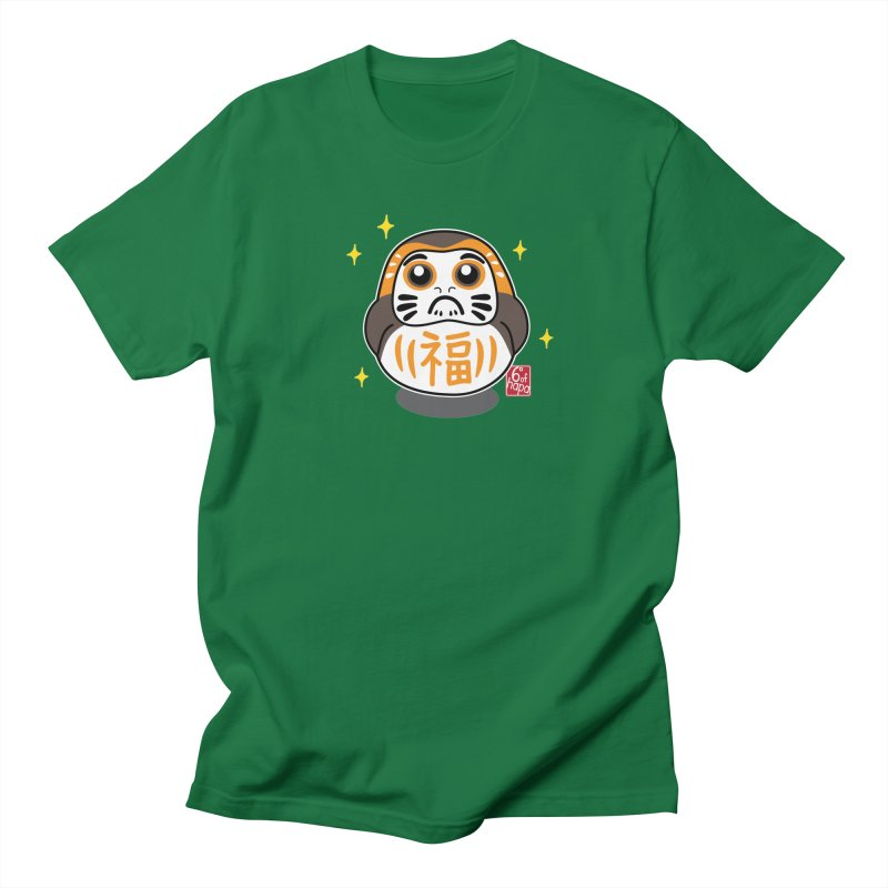 Daruma Wars III Men's T-Shirt by 6degreesofhapa's Artist Shop