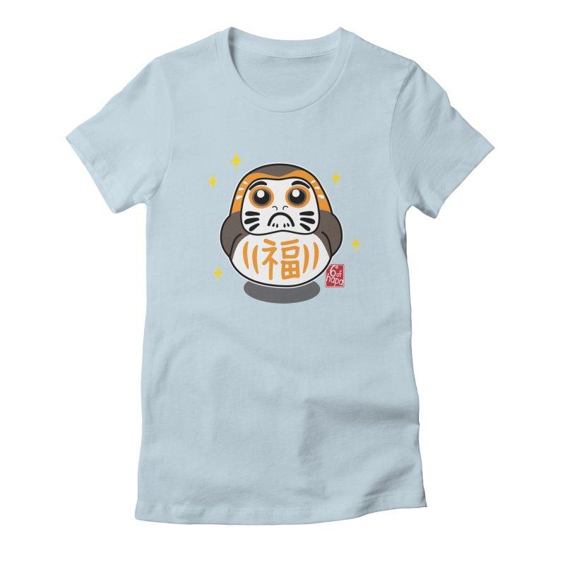 Daruma Wars III Women's T-Shirt by 6degreesofhapa's Artist Shop