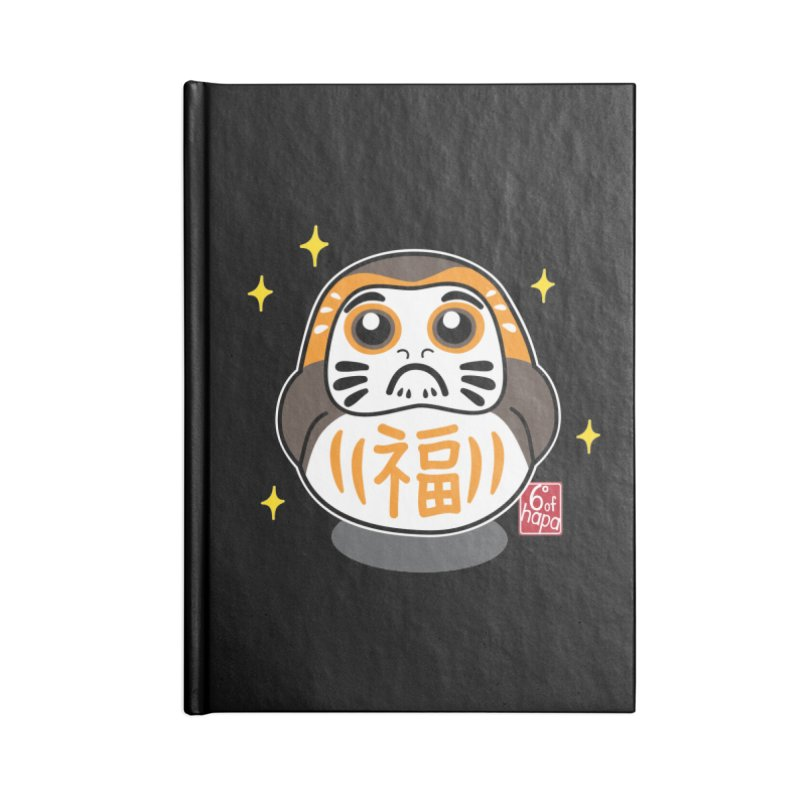 Daruma Wars III Accessories Notebook by 6degreesofhapa's Artist Shop
