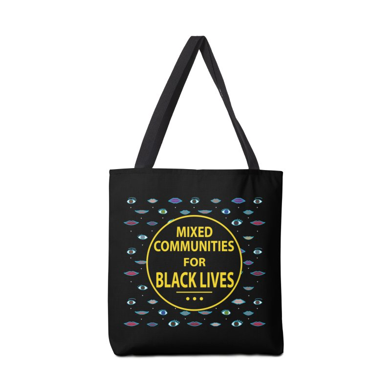 Mixed Communities for Black Lives II Accessories Bag by 6degreesofhapa's Artist Shop
