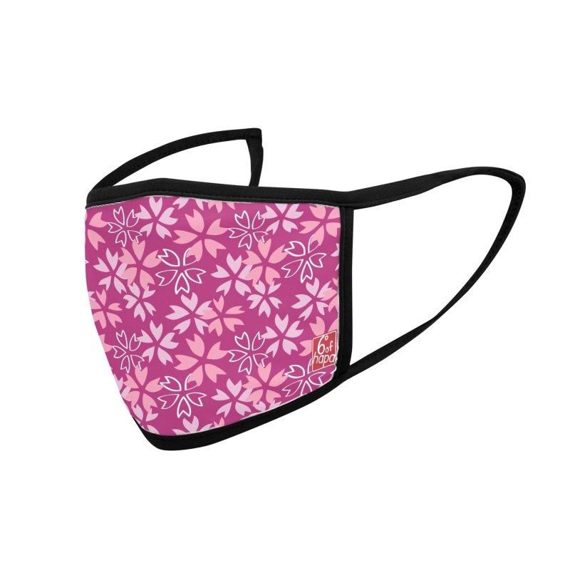 Sakura - Pink Accessories Face Mask by 6degreesofhapa's Artist Shop