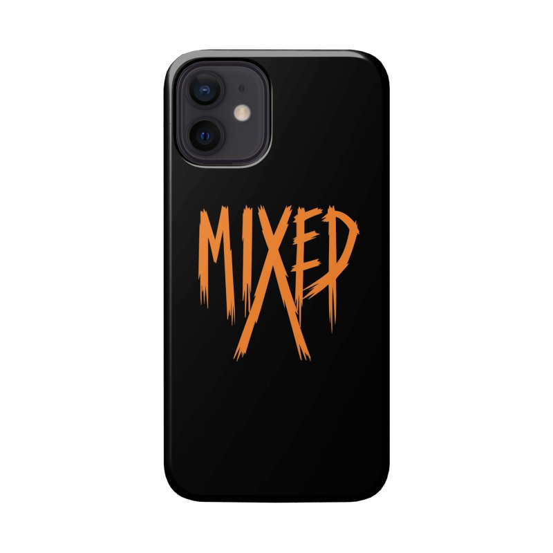 MIXED - Metal - Orange Accessories Phone Case by 6degreesofhapa's Artist Shop