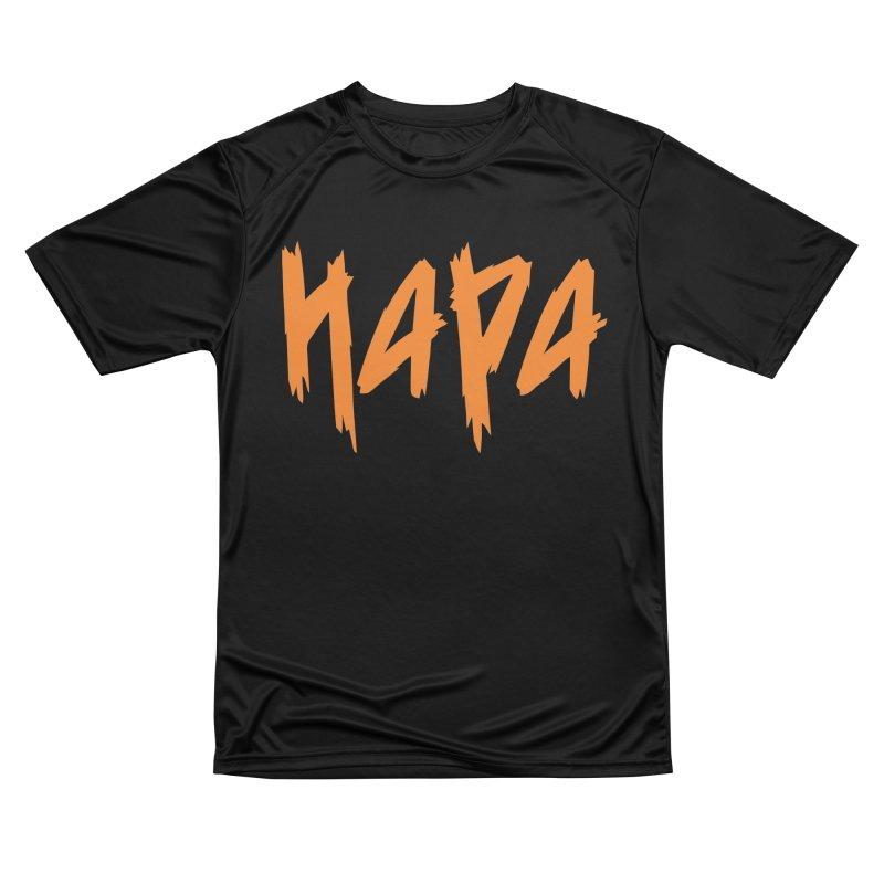 Hapa - Metal - Orange Men's T-Shirt by 6degreesofhapa's Artist Shop