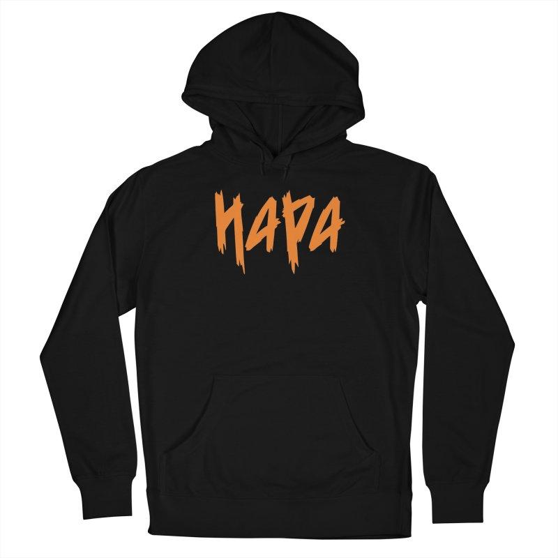 Hapa - Metal - Orange Men's Pullover Hoody by 6degreesofhapa's Artist Shop