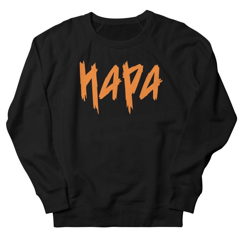 Hapa - Metal - Orange Men's Sweatshirt by 6degreesofhapa's Artist Shop