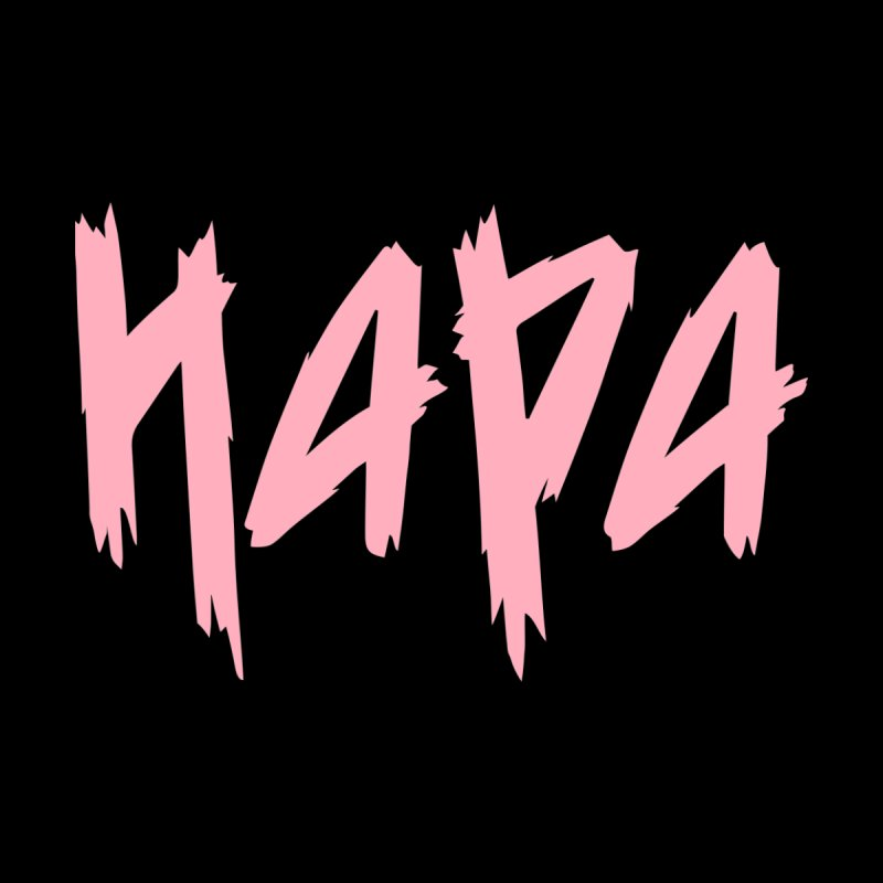 Hapa - Metal - Pastel Pink Women's Longsleeve T-Shirt by 6degreesofhapa's Artist Shop