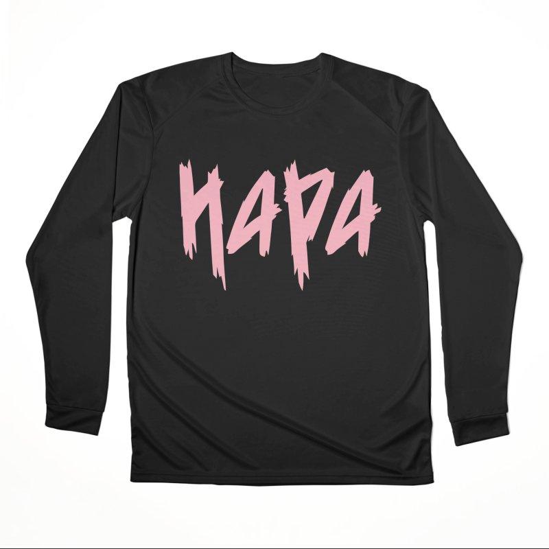 Hapa - Metal - Pastel Pink Women's Longsleeve T-Shirt by 6degreesofhapa's Artist Shop